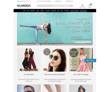 Nemoda E-Ticaret - Web Mobil Yazılım