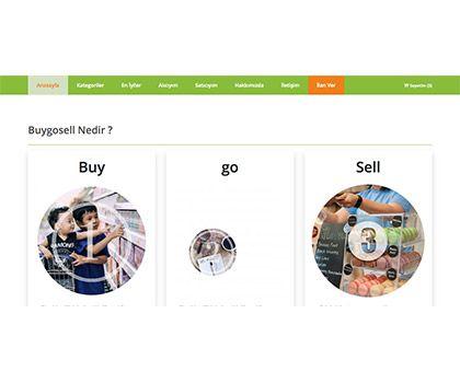 BuyGoSell IOS Mobil Uygulaması Web Mobil Yazılım