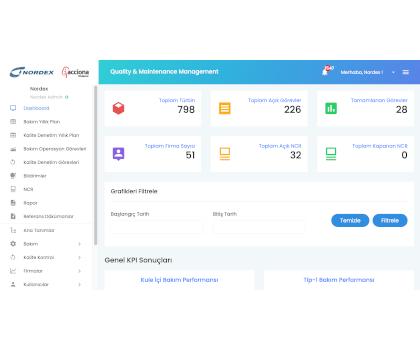 İş Takip - Kalite Kontrol - Web Mobil Yazılım
